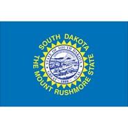 South Dakota State Polyester Flag