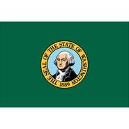 Washington State Polyester Flag