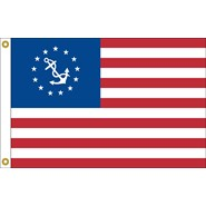 U.S. Yacht Ensigns Flag