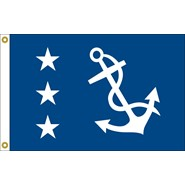 Past Commodore Officer Flag