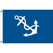Port Captain Officer Flag