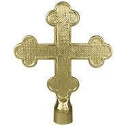 Metal Botonee Cross with Ferrule