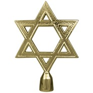 Metal Star of David with Ferrule