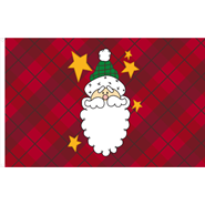 Country Santa Flag