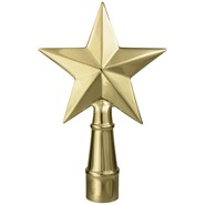 Metal Texas Star without Ferrule