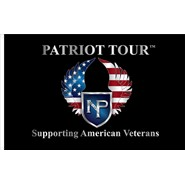 Patriot Tour Logo Flag 3x5 Single Reverse