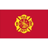 Fire Department 3x5ft flag