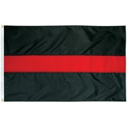 Thin Red Line 3x5ft Flag