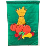 Fall Harvest 28x40in Applique Banner