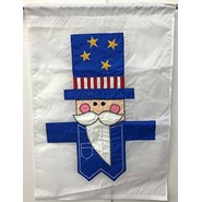 Uncle Sam 28x40in Applique Banner
