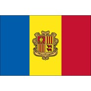 Andorra with Seal Nylon Flag