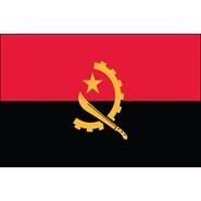 Angola Nylon Flag