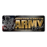Army Retired Magnet