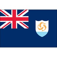 Anguilla Nylon Flag