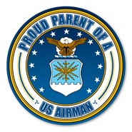 Proud Parent U.S. Airman Magnet