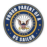 Proud Parent U.S. Sailor Magnet