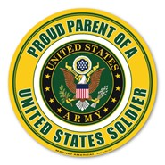 Proud Parent Soldier Magnet