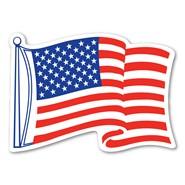 U.S. Waving Magnet