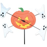 Pumpkin Whirligig 10in
