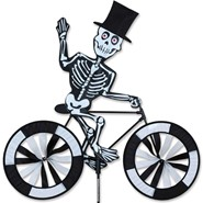 Skeleton Bike Spinner