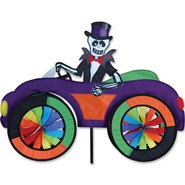 Skeleton Car Spinner