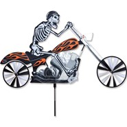 Skeleton Chopper Spinner 28in