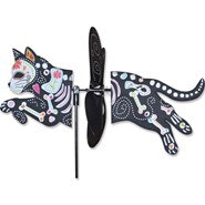 Day of the Dead Cat Petite Spinner