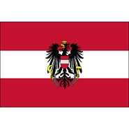 Austria with Eagle Nylon Flag
