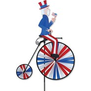 Uncle Sam High Wheel Bike