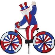 Uncle Sam Bike Spinner 30in
