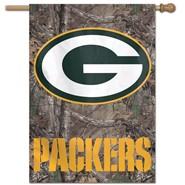 "Green Bay Packers Camo 28""x40"" Banner"