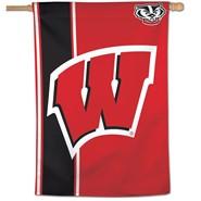 "Wisconsin Univ 28""x40"" Banner"