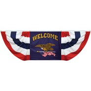 Welcome Flying Eagle Fan Drapes