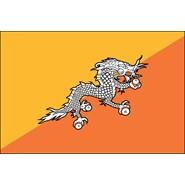 Bhutan Nylon Flag