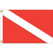 Skin Diver Flag