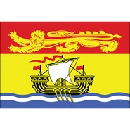 New Brunswick 3x5ft Flag