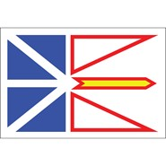 Newfoundland 3x5ft Flag