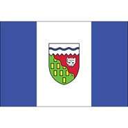 Northwest Territories 3x5ft Flag