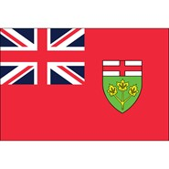 Ontario 3x5ft Flag