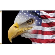 U.S. Flag Eagle 3x5ft Flag
