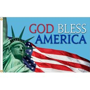 God Bless America 3x5ft Flag