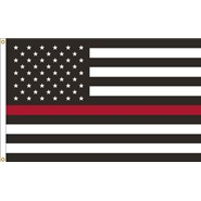 Thin Red Line U.S. 3x5ft Flag