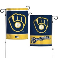 "Brewers Retro 2-Sided 12.5""x18"" Garden Flag"