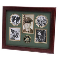 "Army Medallion 5 Photo Collage 13x16"" Frame"
