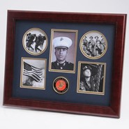 "Marine Medallion 5 Photo Collage 13x16"" Frame"