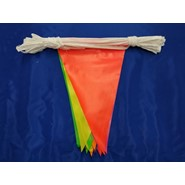 60' Fluorescent String Pennant