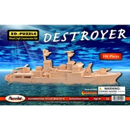 3D Destroyer Puzzle