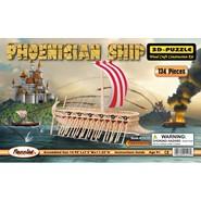 3D Phoenician Ship Puzzle