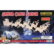 3D Santa Claus Sleigh Puzzle