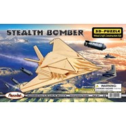 3D Stealth Bomber Puzzle